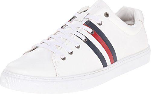 Tommy Hilfiger Men's Milo 2 White Sneaker 13 D (M) - http:/
