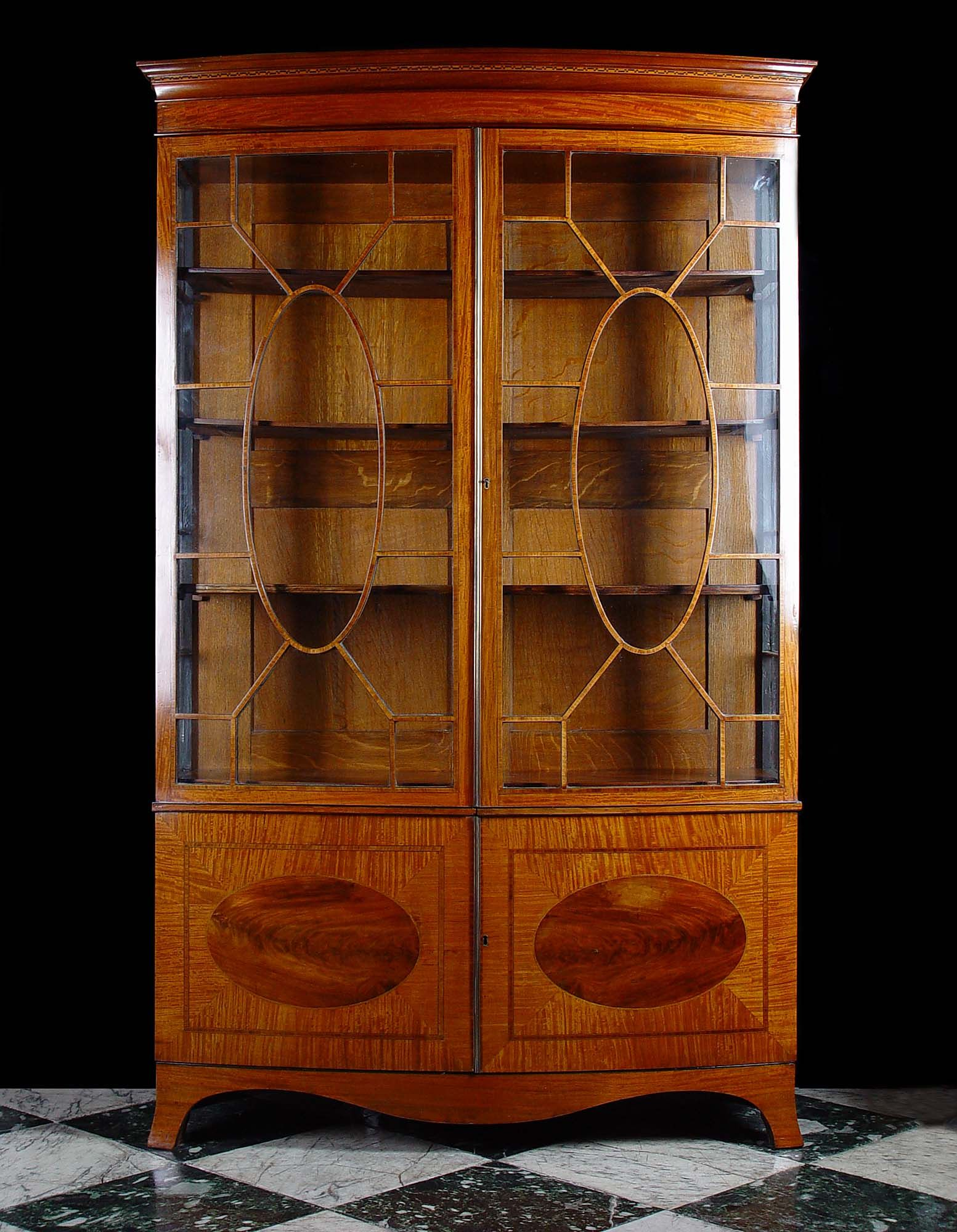 Antique China Cabinets | Antique Georgian China Display Cabinet