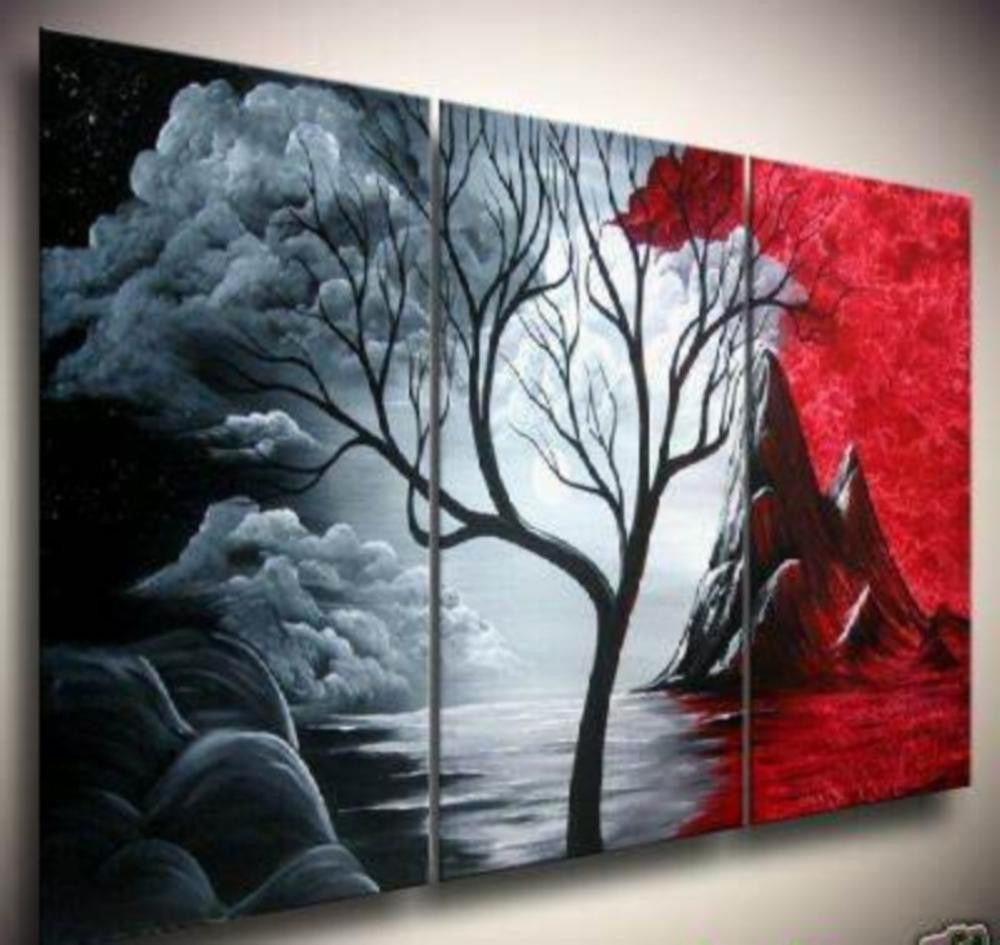 Cheap painting oil pastel, Buy Quality oil painting types directly from  China oil mars Suppliers: hand-painted artwork The Cloud tree High Q. Wall  Decor ...