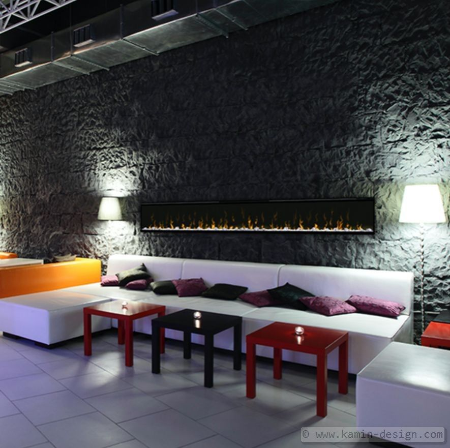 Dimplex Prisma 189 Elektrobreitwandkamin - wohnzimmer ideen kamin