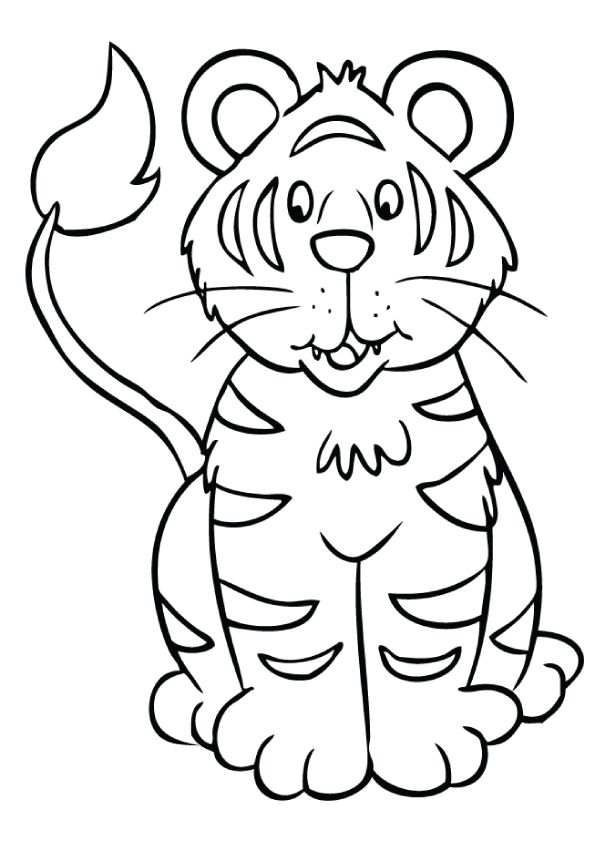 Top 20 Tiger Coloring Pages For Your Little Ones Coloring Pages Coloring Pages For Kids Animal Coloring Pages