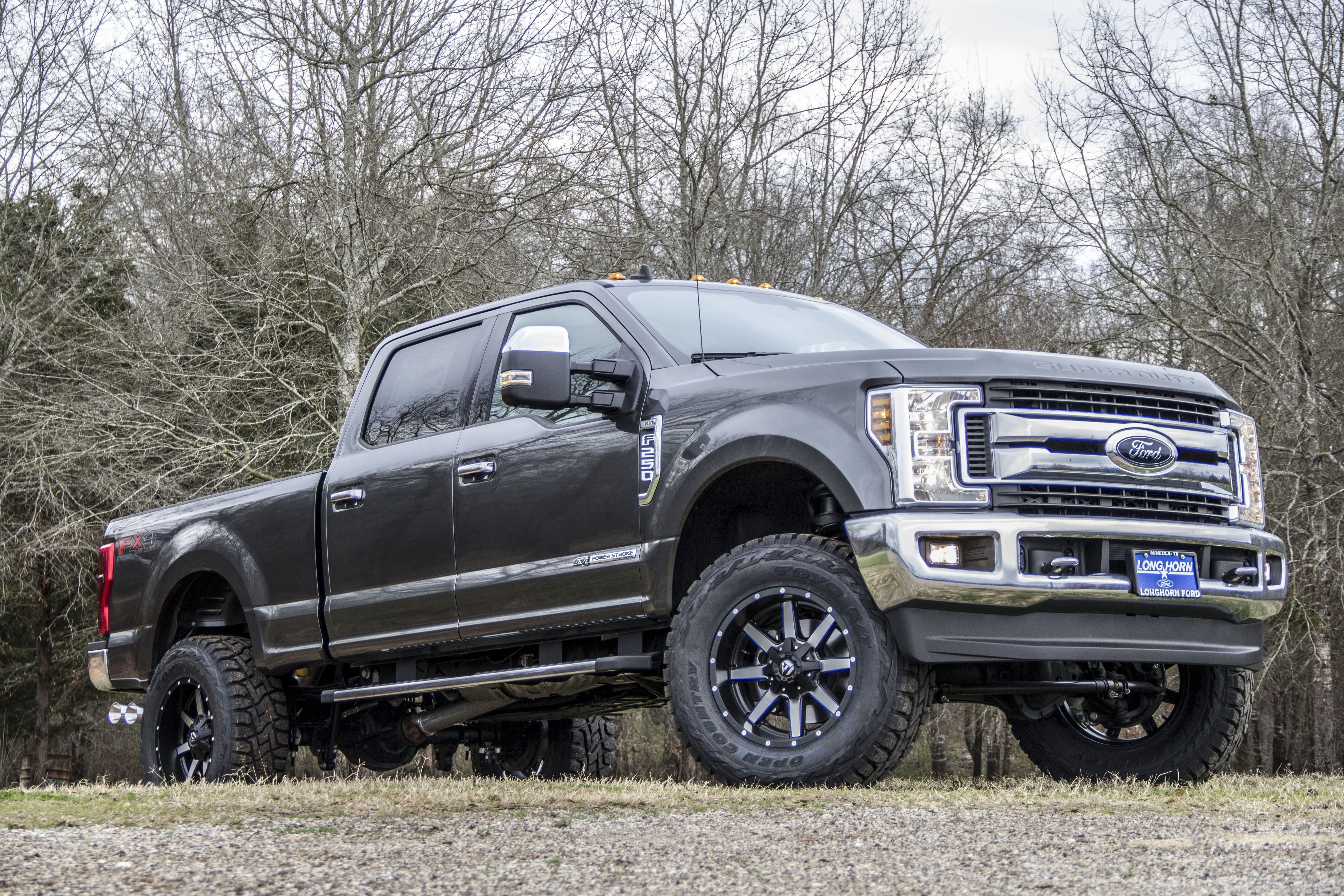 hight resolution of ford superduty f250 xlt with a lift kit and custom wheels liftedtrucks fordf250