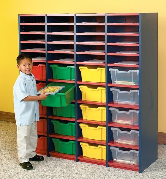 Demco.com Storage shelves and cubbies