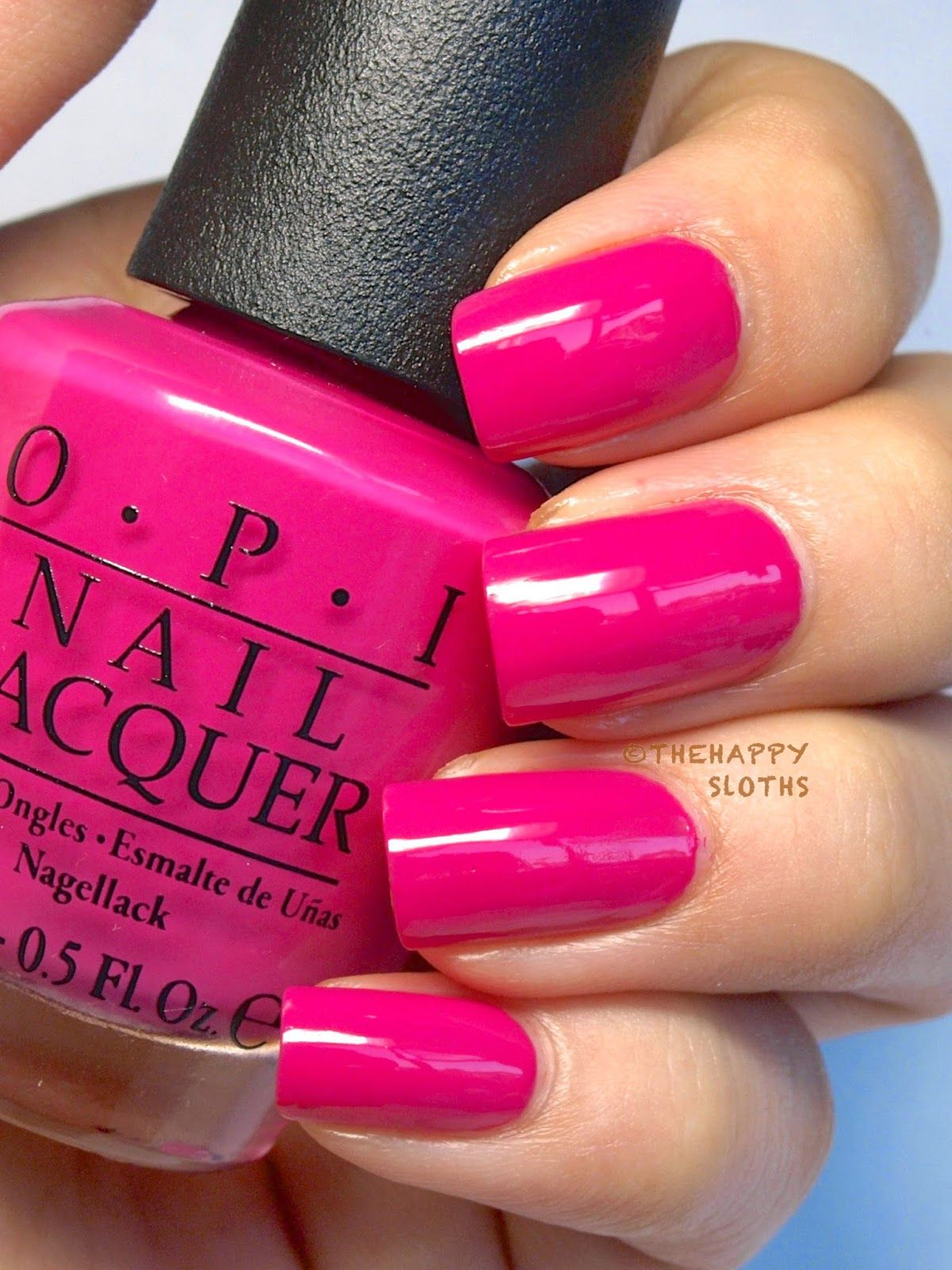 "Ford Mustang By OPI Nail Polish Collection In ""Race Red"