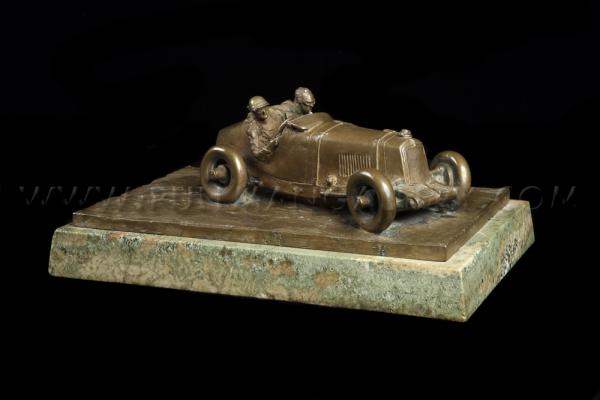 Frederick Gordon Crosby - Sydney Charles Houghton Davis (Sammy Davis), Bronze (1931)