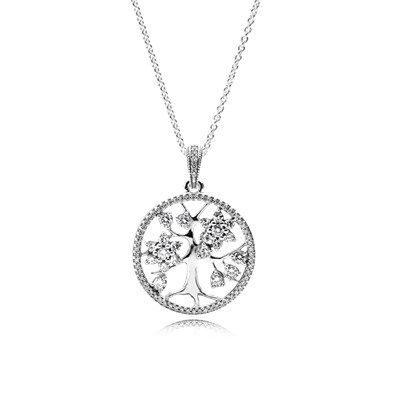 Family tree clear cz 390384cz 80 jewelry pinterest family the pandora family tree necklace is a must have for mothers day aloadofball Choice Image