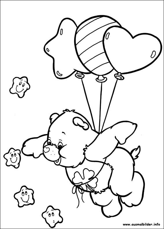 Die Glucksbarchis Malvorlagen Bear Coloring Pages Coloring Books Disney Coloring Pages