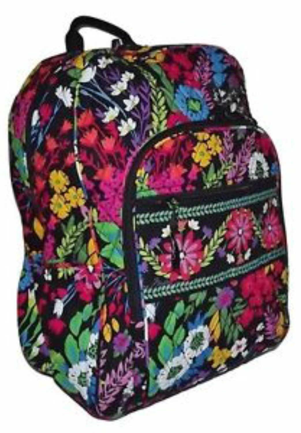 Vera Bradley Campus Backpack with Organizer Panel Field Flowers. Find this  Pin and more ... 3f38723eb87ff