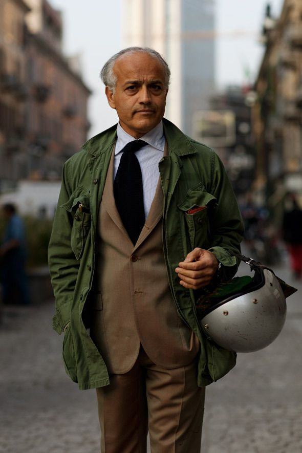 Military Jackets Seem To Be Preferred Over Barbour Coats By The