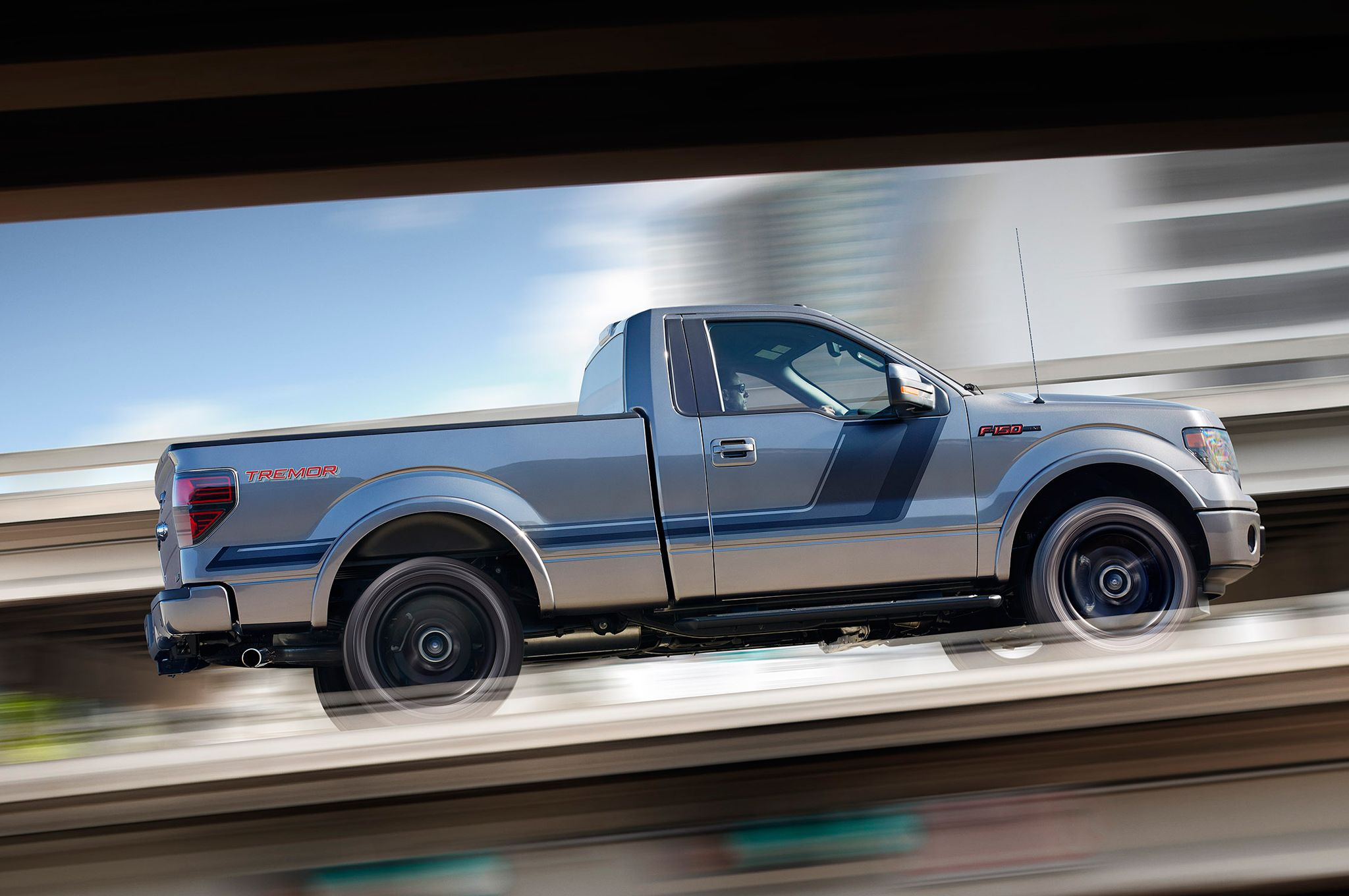 One of the biggest changes sported by the 2014 ford f 150 tremor is the pickup trucksford truckssport