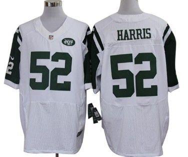 83afaa72552 ... nike new york jets 52 david harris white elite jersey