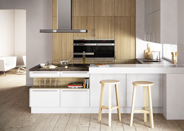 Modern Kitchen Cabinets With Goldreif, By Poggenpohl