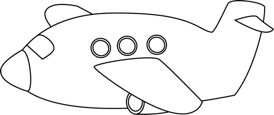 Black And White Airplane Clipart Black And White Clip Art Black And White