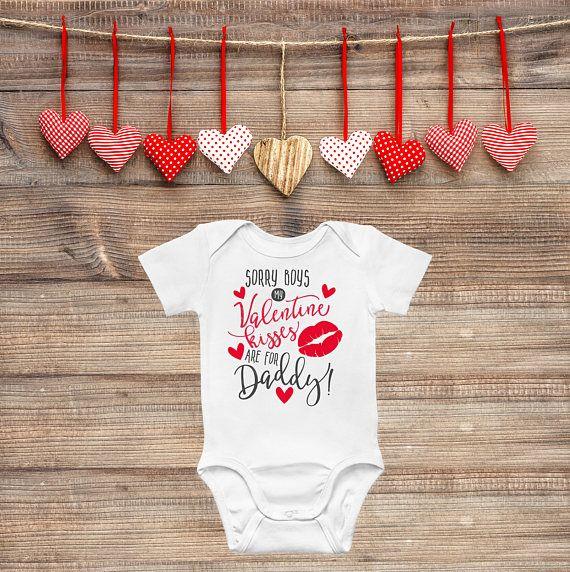515b11512 Girls Valentines Day Onesie
