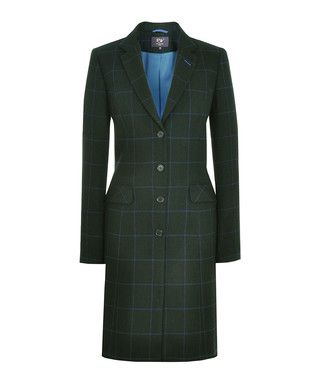 Charwood bottle green pure wool coat - REALLY WILD CLOTHING Sale