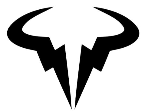 Rafael Nadal S Logo In 2020 Bull Logo Rafael Nadal Raging Bull