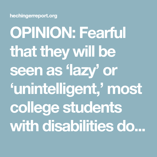 Fearful That They Will Be Seen As Lazy >> Read Aloud Assistance On Common Tests Proves Contentious