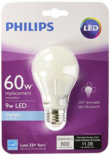 Phillips 455873 9 Watt Led Daylight Light Bulb