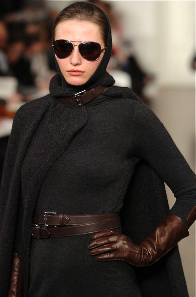 "Ralph Lauren - stunning.  Yes, but it reminds me of ""Grey Gardens"" documentary true story."
