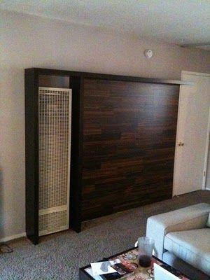 Wall Heater Cover Bookshelves Hering