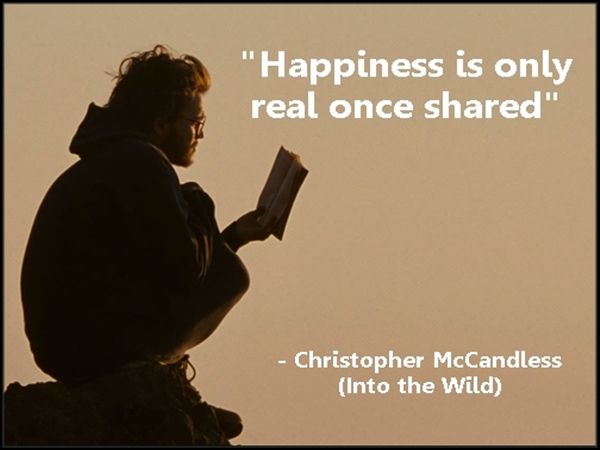 Into The Wild Quotes Interesting Inspirational Christopher Mccandless Into The Wild Quotes