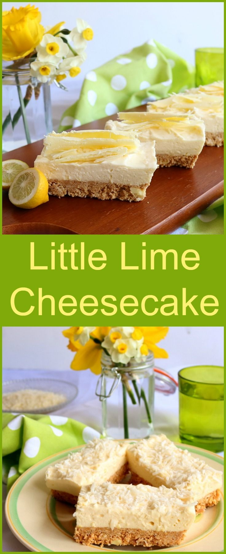 Little Lime Cheesecake Recipe Lime Desserts
