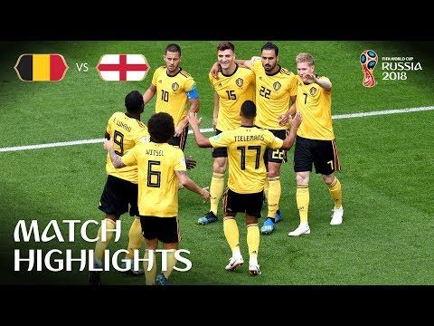 bd3a827fc Belgium v England - 2018 FIFA World Cup Russia™ - Play-off for third place  - YouTube