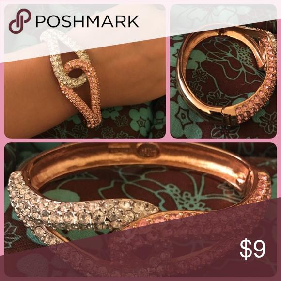 Rose gold bracelet Costume jewelry Costume jewelry Silver