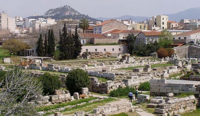 Keramikos (Greek: Κεραμεικός), formerly known by its Latinized form Ceramicus, is an area of Athens, Greece, located to the northwest of the Acropolis... Get more information about the Kerameikos on Hostelman.com #attraction #Greece #museum #travel #destinations #tips #packing #ideas #budget #trips