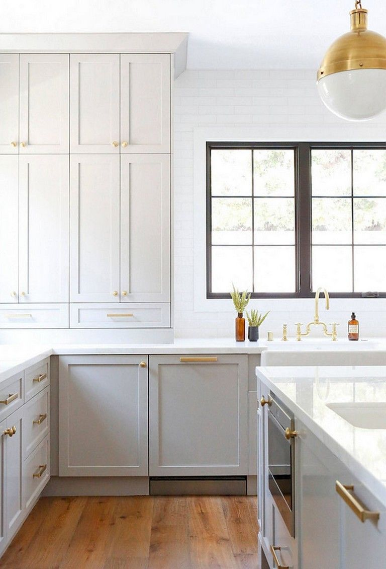 38 Beautiful Farmhouse Gray Kitchen Cabinet Ideas Kitchen Remodel Small Budget Kitchen Remodel Kitchen Remodeling Projects