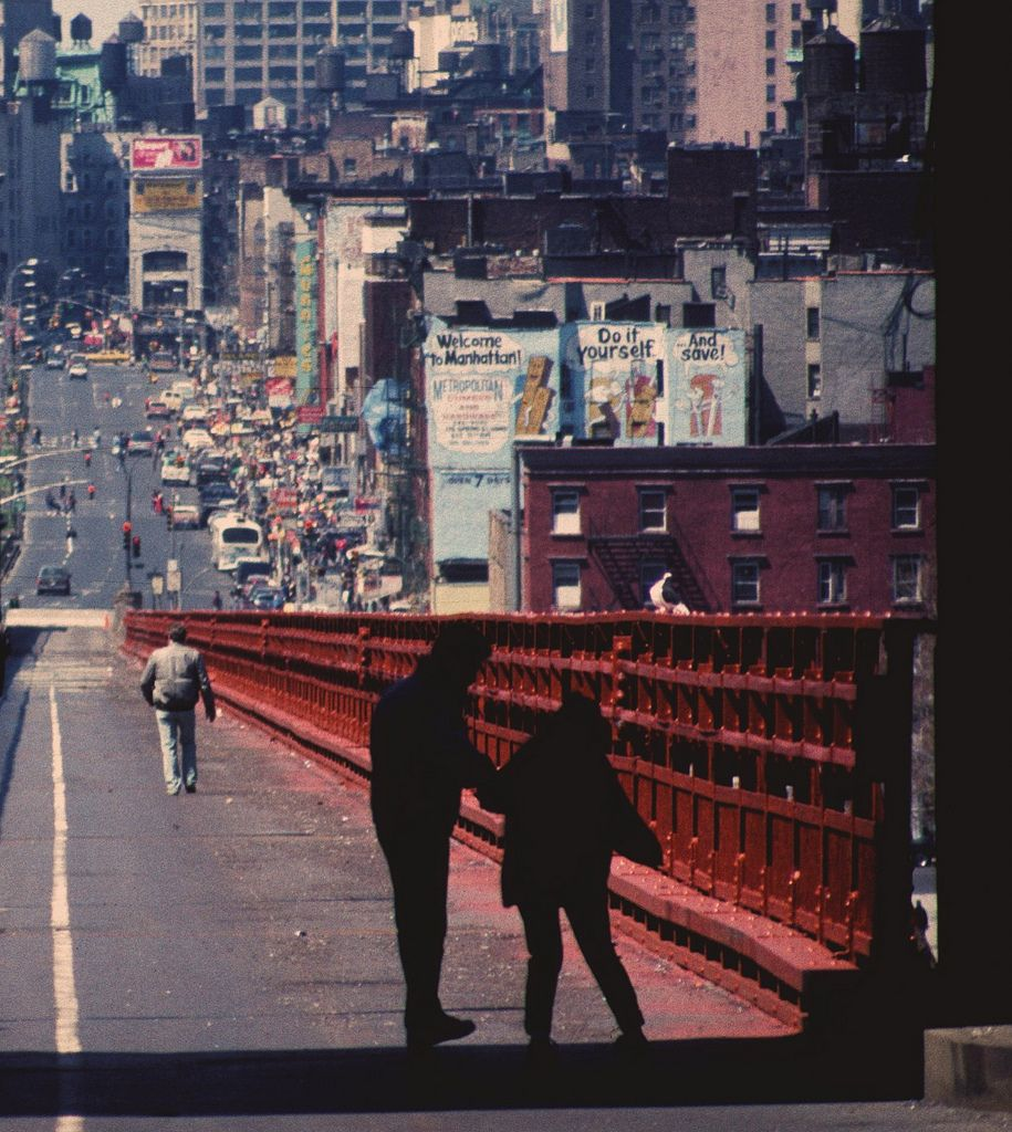Steven Siegel, Williamsburg Bridge walkway, NY Streetscapes #truenewyork #lovenyc