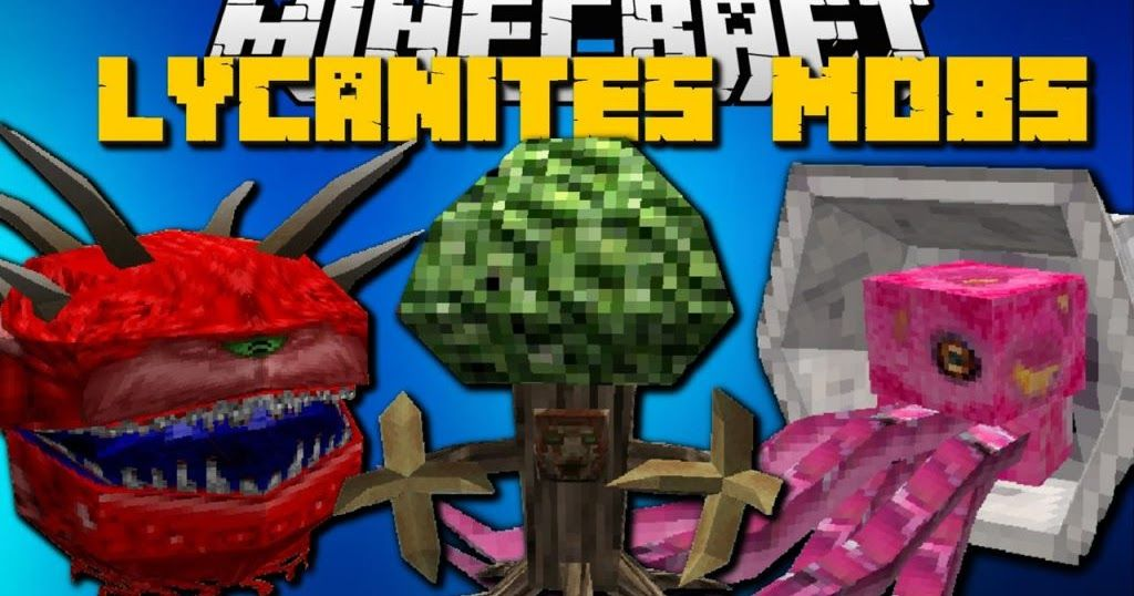 Lycanites Mobs Mod 1 12 2/1 11 2 adds many new mobs to specific
