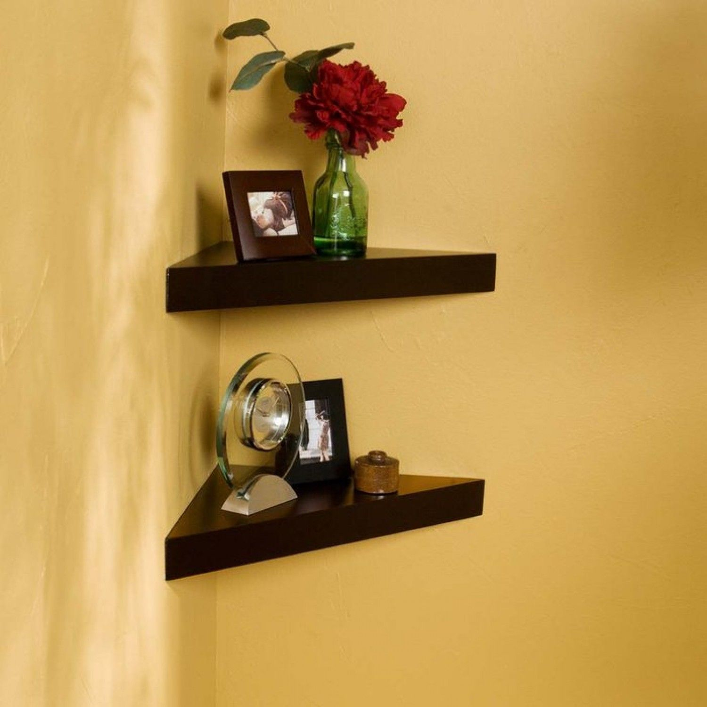 Medium Of Bedroom Corner Wall Shelves