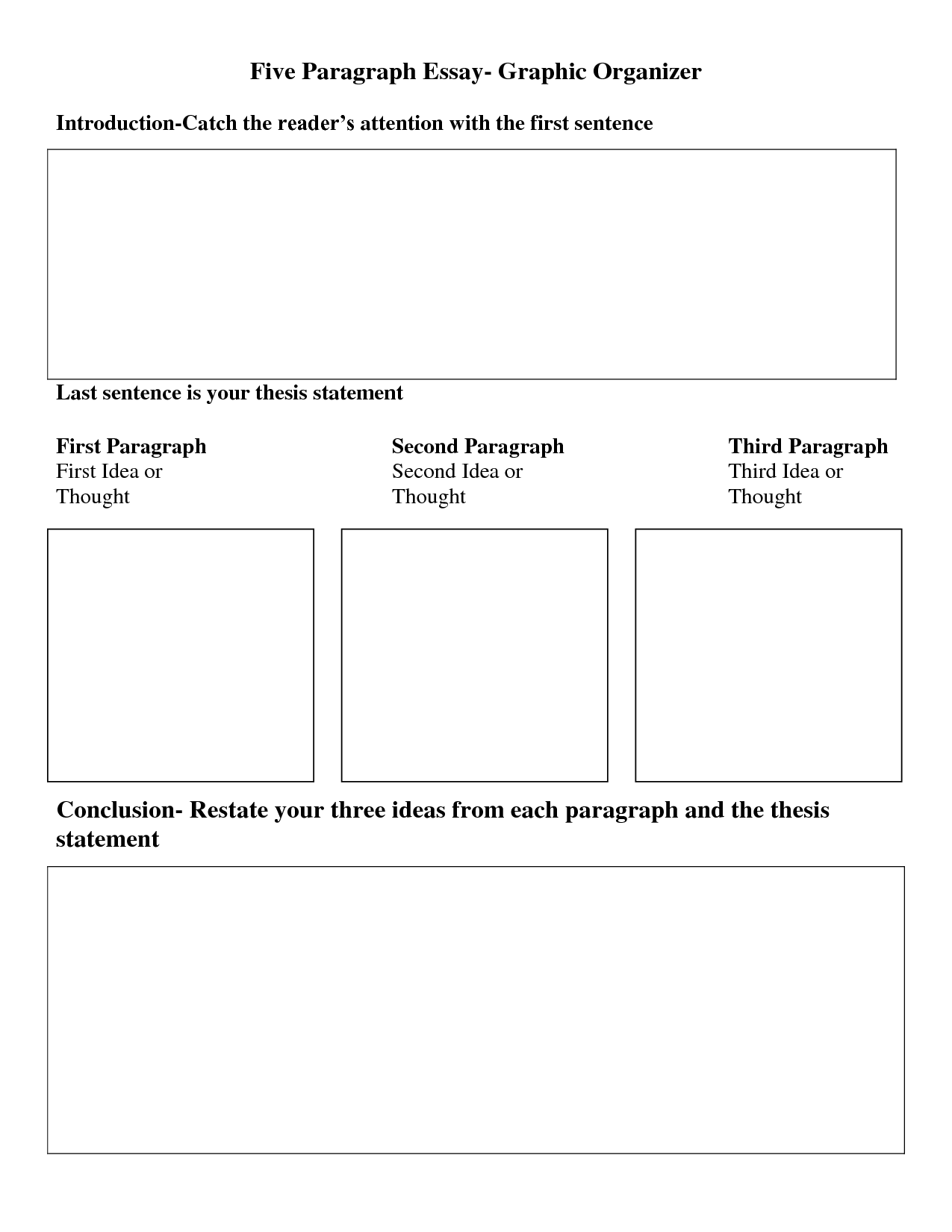 Graphic Organizer Essay - Google Search | Narrative Essay, Essay, Graphic  Organizers