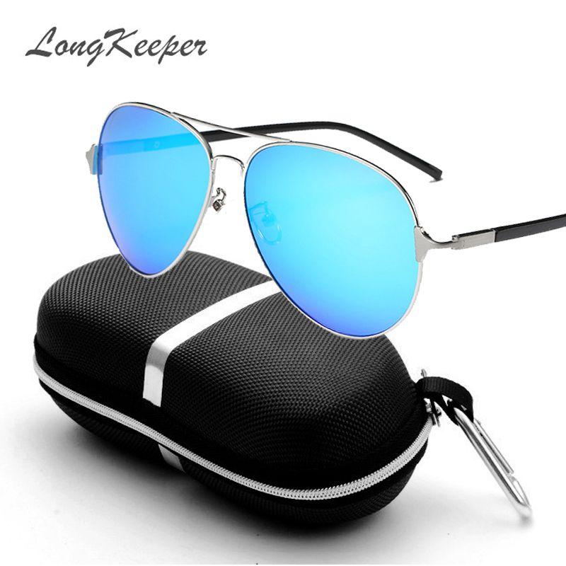 2017 Retro Brand Classic Pilot Men Sunglasses Fashion Polarized 3jLRA54