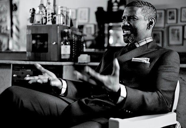 "Denzel Washington on Instagram: ""#giorgioarmani"""