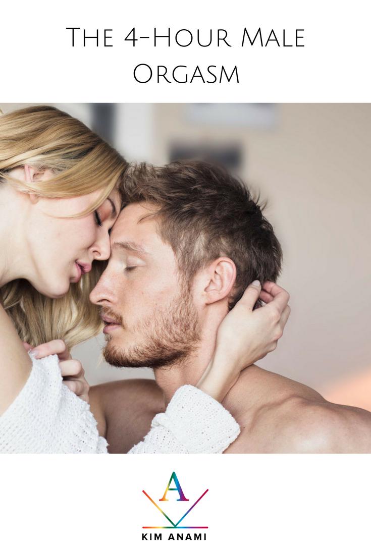 Slow male orgasm