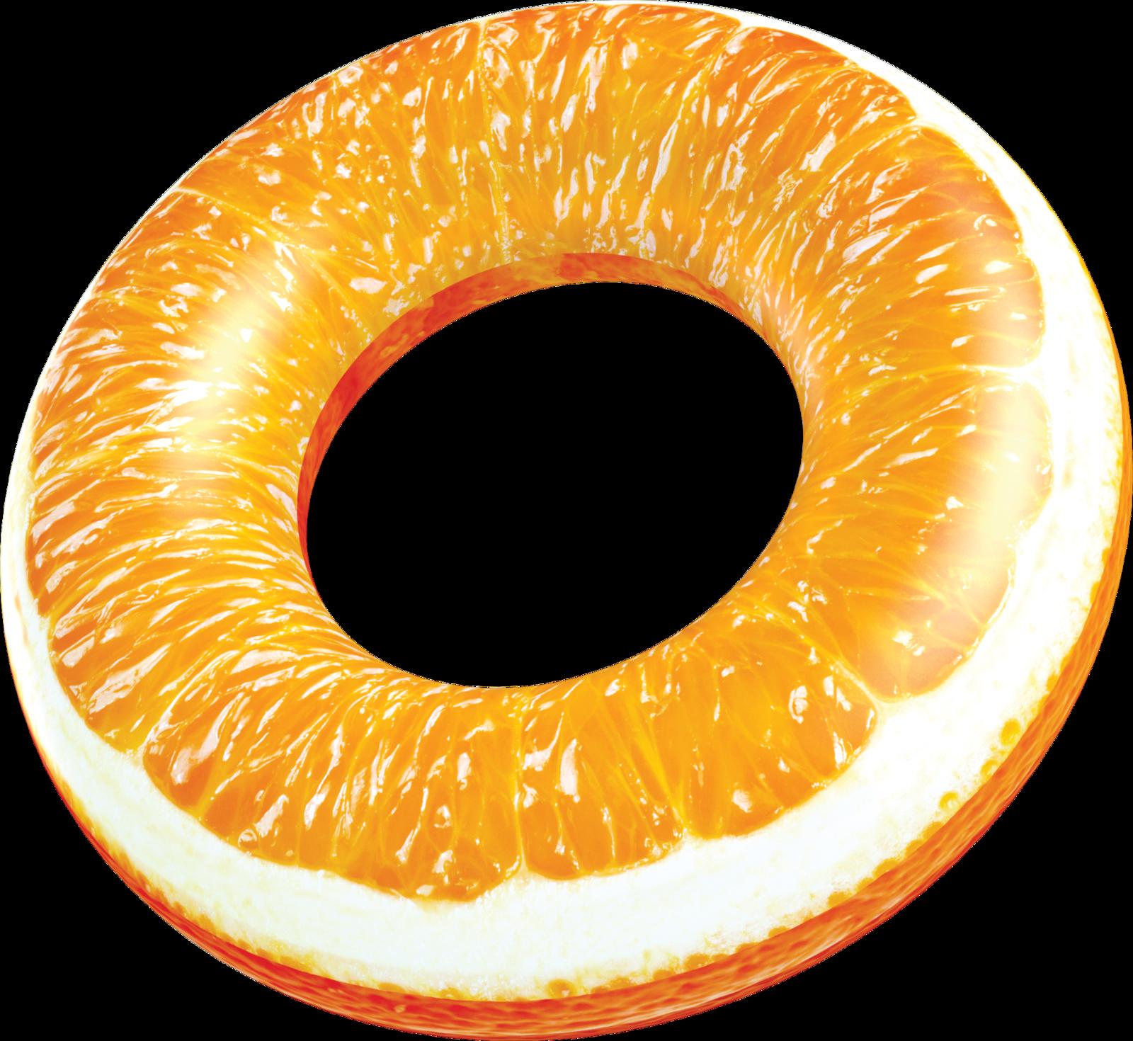 Realprint Orange Pool Tube Pool Tube Orange Orange Fruit