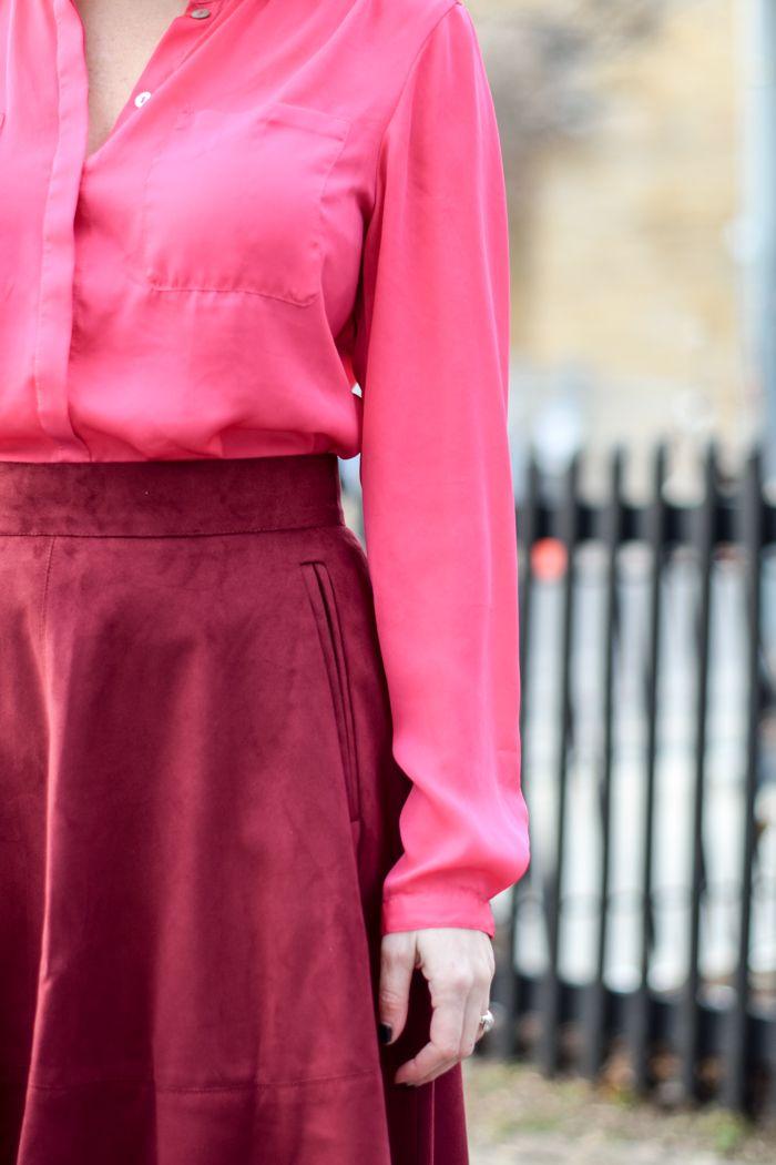 532c8a94be Pink   Burgundy. Washington Dc FashionMidi ...