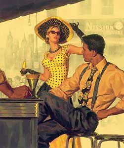 Manhattan Heat - Glen Orbik - World-Wide-Art.com