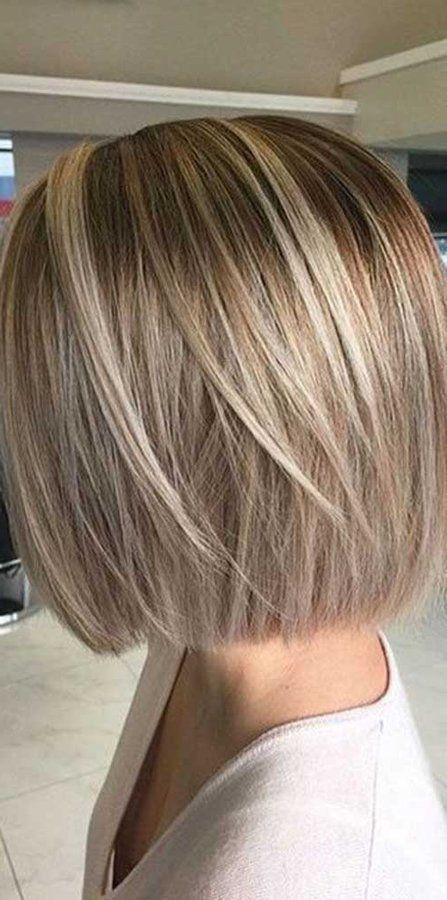 Mechas de moda en pelo corto