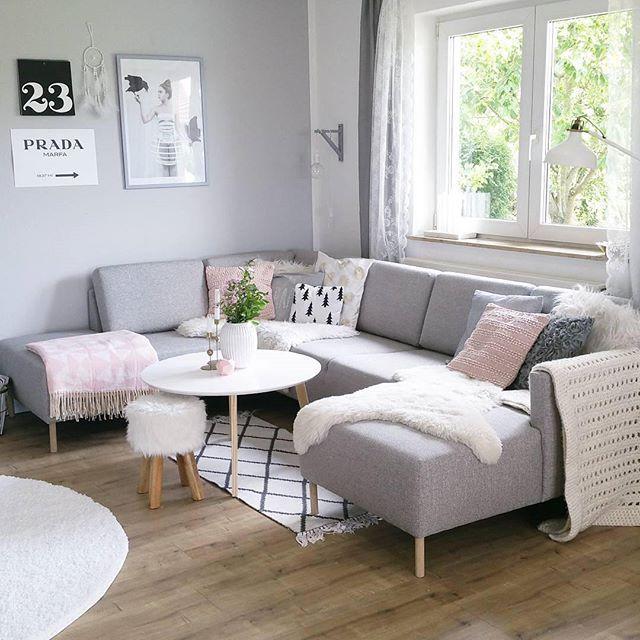 Was für ein schönes Wohnzimmer! @sinas_home #Westwing - schöne bilder fürs wohnzimmer