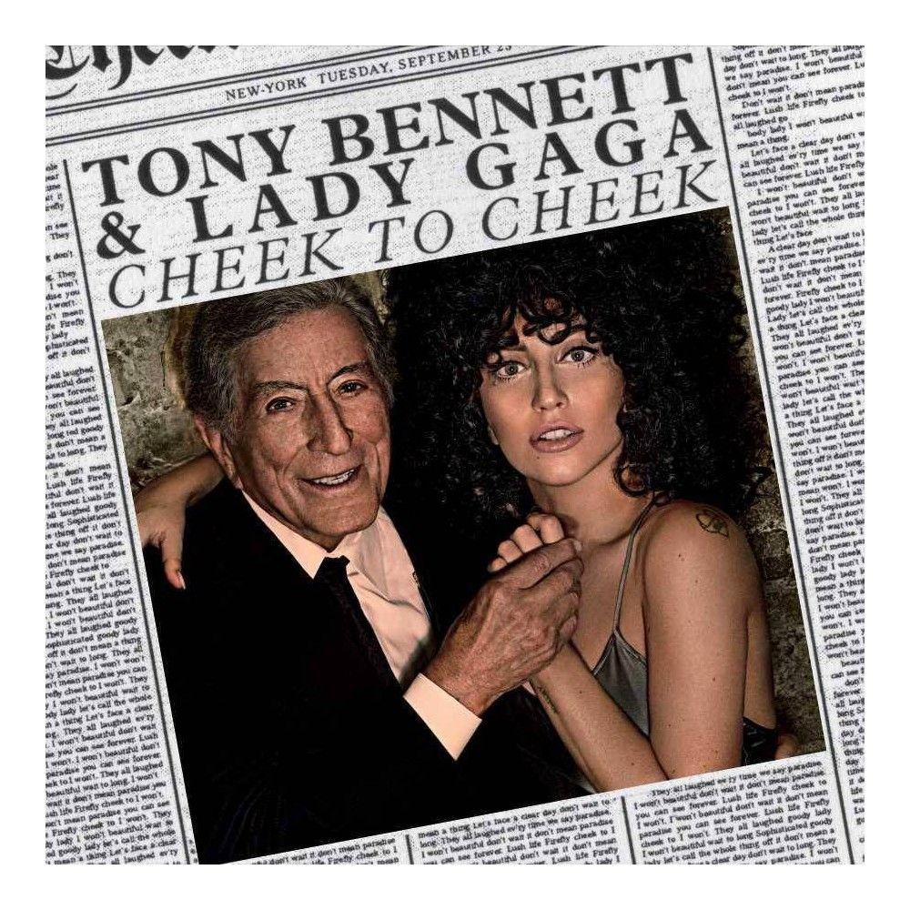 Tony Bennett Lady Gaga Cheek To Cheek Lp Vinyl In 2021 Tony Bennett Lady Gaga Tony