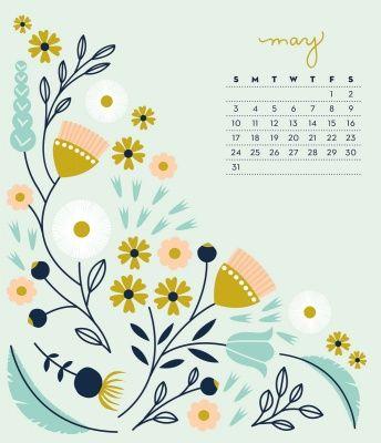 Elizabeth Olwen 2015 Desk Calendar