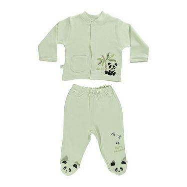 Bebetto Bamboo Patikli Pijama Takımı (Panda)