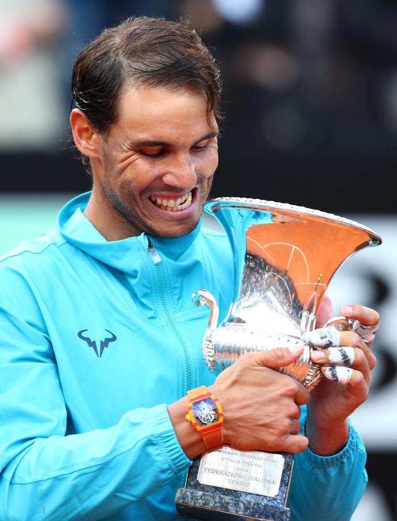 Photos Rafael Nadal Bagels Novak Djokovic For Ninth Italian Open Title Novak Djokovic Rafael Nadal Rafael Nadal Fans