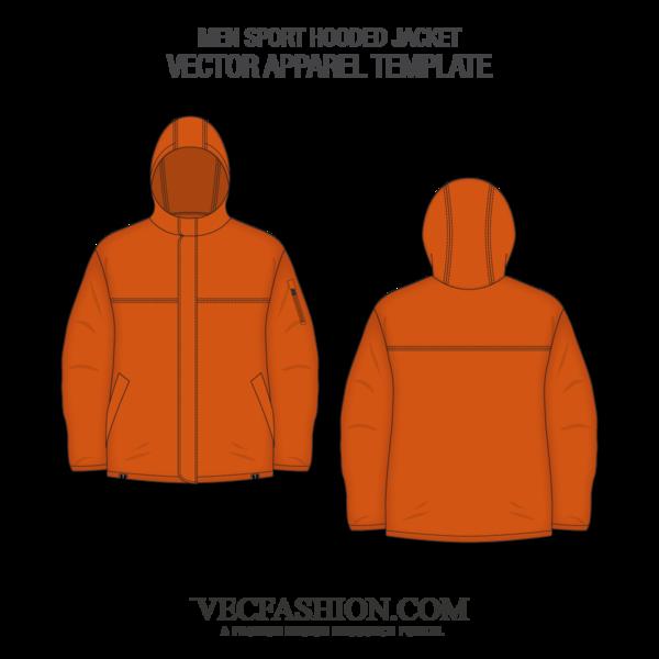 Men Sport Hooded Jacket Fashion Flats Hooded Jacket Jackets