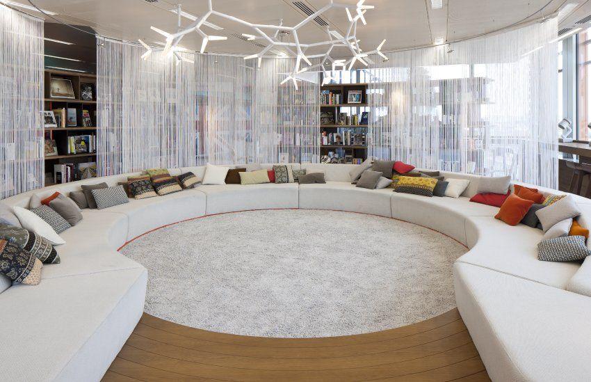 WOW!!!! Google Londons - Gemütliche Runde: Große Sofas sollen eine ...