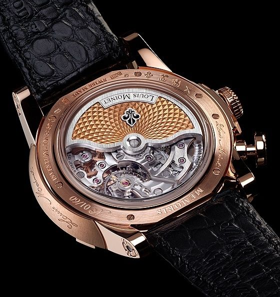 Louis Moinet Memoris - caseback | juwelier-haeger.de