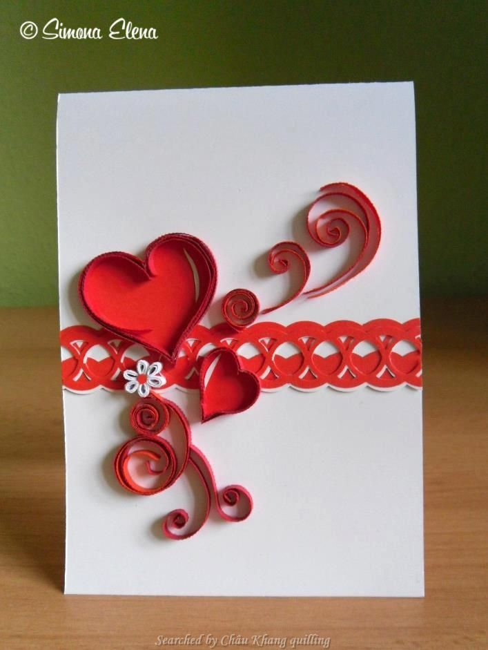 Simona Elena Quilled Valentine And Heart Cards Searched By Chau
